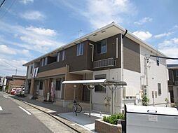 愛知県名古屋市中川区新家3丁目の賃貸アパートの外観