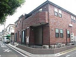 東京都豊島区西巣鴨4丁目の賃貸アパートの外観