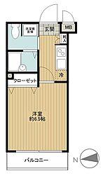東京都杉並区高円寺北4丁目の賃貸マンションの間取り