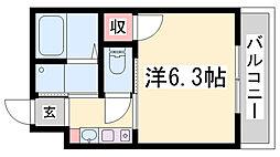 EC神戸ハーバーランド前II[3階]の間取り