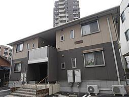 福岡県北九州市門司区原町別院の賃貸アパートの外観