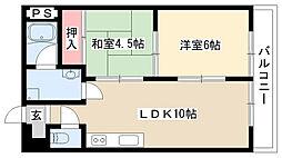 ハウス大屋敷[103号室]の間取り
