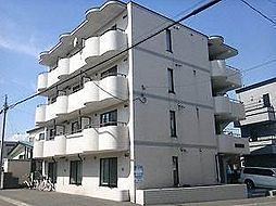 北海道札幌市白石区南郷通12丁目南の賃貸マンションの外観