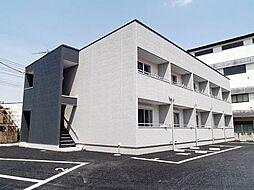 埼玉県比企郡嵐山町むさし台2丁目の賃貸アパートの外観