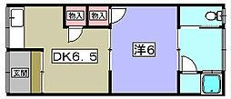 中村文化[1階]の間取り