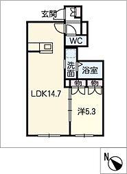 仮)日進市浅田町メゾン[1階]の間取り