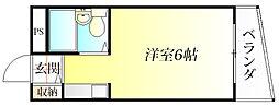 リバーサイドマンション[3階]の間取り