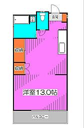 [一戸建] 東京都東村山市栄町3丁目 の賃貸【東京都 / 東村山市】の間取り