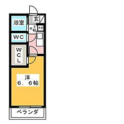 レオパレスKATOHII[1階]の間取り