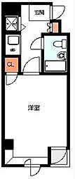 プレール平和島[3号室]の間取り