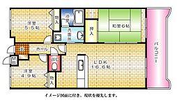 カーサ古江--[204号室]の間取り