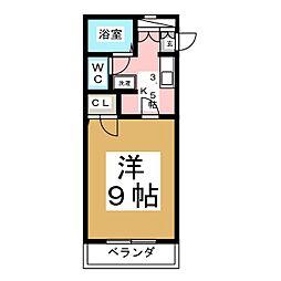 KYハウス[1階]の間取り