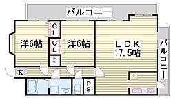 箕谷駅 5.8万円