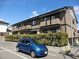愛知県安城市東明町の賃貸アパートの外観
