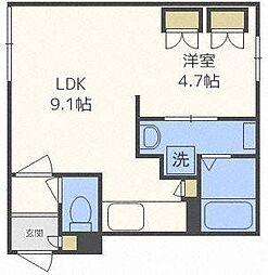 GRANDWOOD KANON(グランドウッド カノン)[4階]の間取り