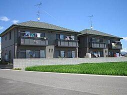 愛媛県松山市東垣生町の賃貸アパートの外観