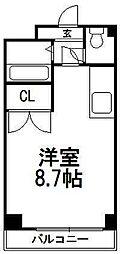 北海道札幌市南区澄川二条4丁目の賃貸マンションの間取り