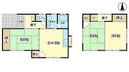 [一戸建] 兵庫県姫路市西今宿8丁目 の賃貸【/】の間取り