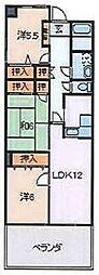 フローデンス[6階]の間取り