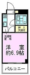 散東マンション[403号室]の間取り
