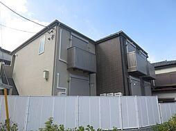 千葉県千葉市稲毛区小仲台9の賃貸アパートの外観