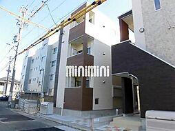 愛知県名古屋市中村区長筬町1の賃貸アパートの外観