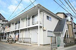 新座 アパート 北野コーポ[2階]の外観