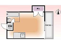 コツカビル[3階]の間取り