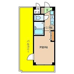 JR東海道本線 住吉駅 4階建[201号室]の間取り