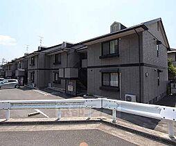 京都府八幡市橋本意足の賃貸アパートの外観