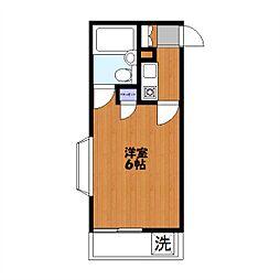緑町共和ビル[207号室]の間取り