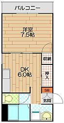 柳川ビル[3階]の間取り
