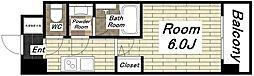 スプランディッド難波I[3階]の間取り