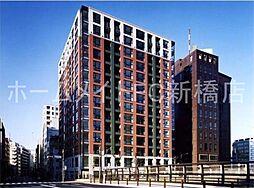 東京都中央区築地1丁目の賃貸マンションの外観