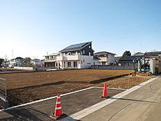 156坪の敷地、南北距離約27m。安心の開発分譲地の土地です。