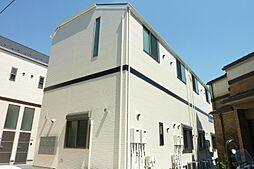 東京都足立区綾瀬一丁目の賃貸アパートの外観