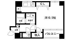 TSURUGI[302号室]の間取り