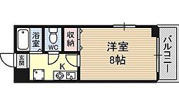 PAL中津[3階]の間取り
