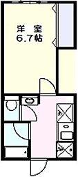 三田YOマンション[1階]の間取り