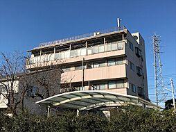 東京都府中市栄町3丁目の賃貸マンションの外観