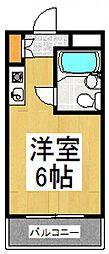 TOP東村山 A棟[2階]の間取り