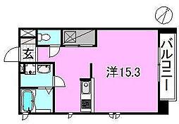 サクラガーデン[101 号室号室]の間取り