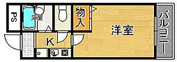 笠神マンション[6階]の間取り