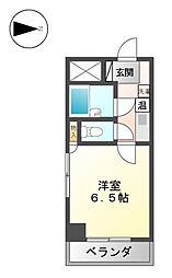 G1ビル志賀公園[4階]の間取り