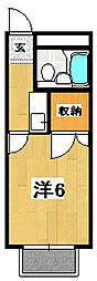 メゾンドエスポアール[311号室]の間取り