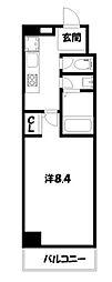 ウインドベル二条駅[8階]の間取り