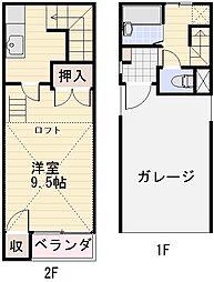 長野県長野市三輪4丁目の賃貸アパートの間取り