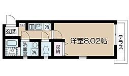 東京都江戸川区一之江8丁目の賃貸マンションの間取り