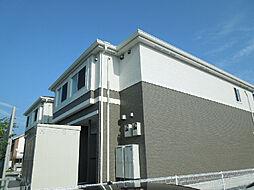 愛媛県松山市枝松5丁目の賃貸アパートの外観