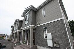 広島県福山市春日町浦上の賃貸アパートの外観